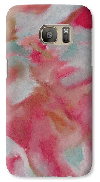 Galaxy Case featuring the painting Sariel by Patricia Cleasby