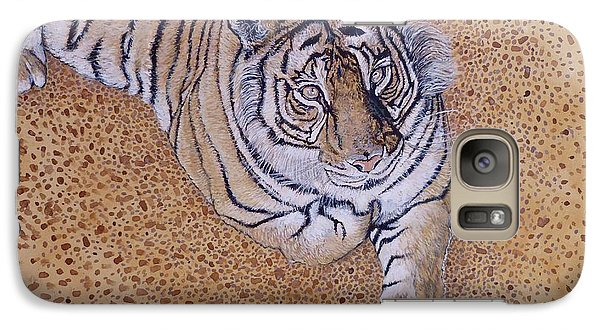 Galaxy Case featuring the painting Sasha by Tom Roderick