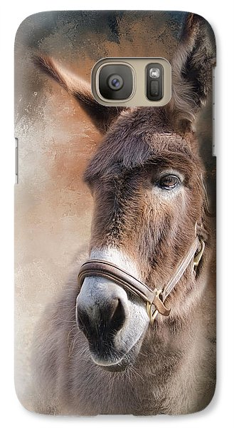 Galaxy Case featuring the photograph  Lil Sassafrass by Robin-Lee Vieira