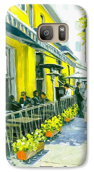 Galaxy Case featuring the painting Sassafraz by Michael Swanson