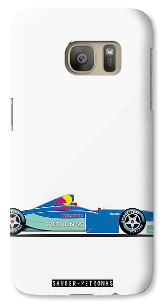 Sauber Petronas C20 F1 Poster Galaxy S7 Case