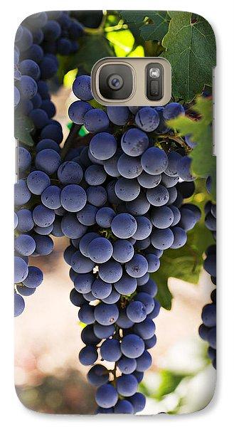 Sauvignon Grapes Galaxy S7 Case by Garry Gay