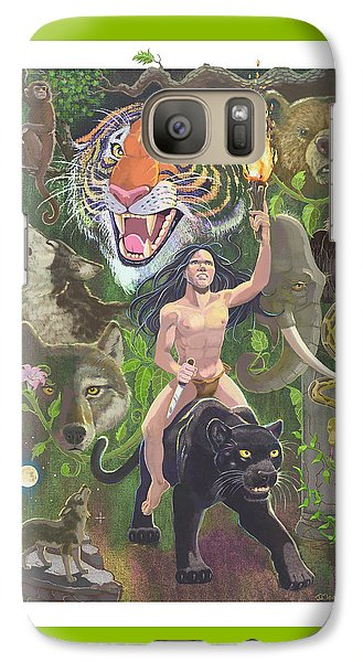 Savage Galaxy S7 Case by J L Meadows