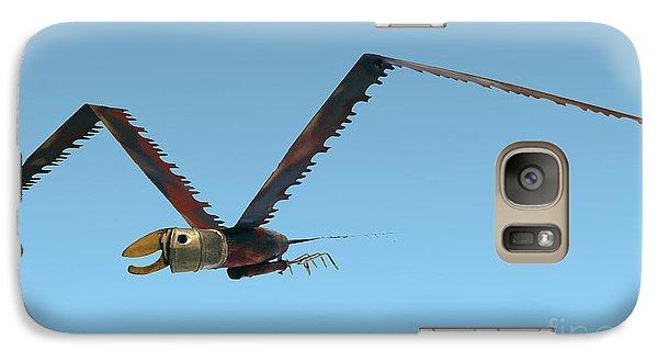 Saw Bird -raptor Galaxy S7 Case