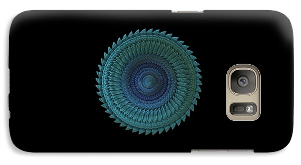 Galaxy Case featuring the digital art Sawblade by Lyle Hatch