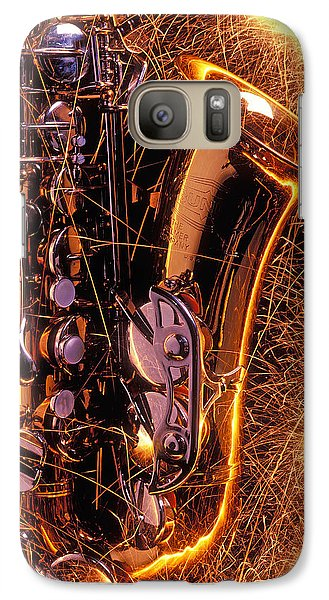 Sax With Sparks Galaxy S7 Case