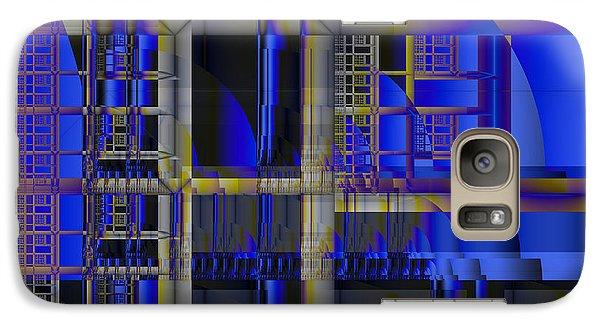Galaxy Case featuring the digital art Scaffold II by Richard Ortolano