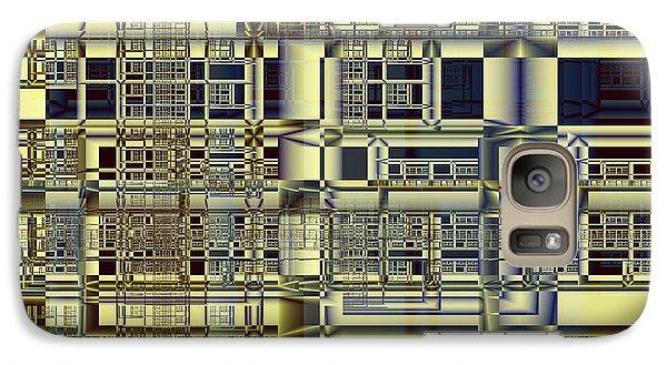Galaxy Case featuring the digital art Scaffolds by Richard Ortolano