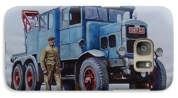 Galaxy Case featuring the painting Scammell Wrecker. by Mike Jeffries