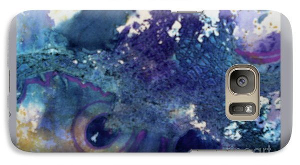 Galaxy Case featuring the painting Scarecrow Eyes by Kathy Braud