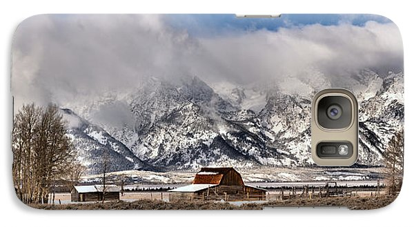 Galaxy Case featuring the photograph Scenic Mormon Homestead by Adam Jewell