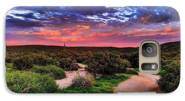 Galaxy Case featuring the photograph Scenic Trailhead by Anthony Citro