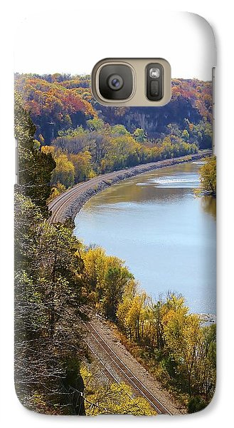 Galaxy Case featuring the photograph Scenic View by Bruce Bley