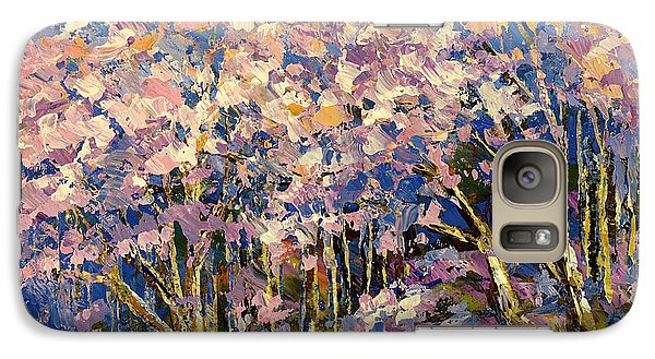 Galaxy Case featuring the painting Scented Blooms by Tatiana Iliina