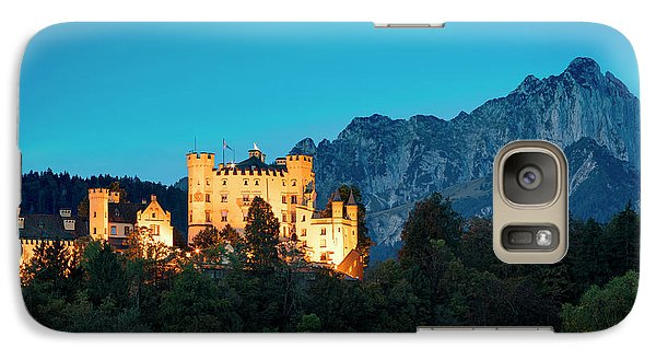 Galaxy Case featuring the photograph Schloss Hohenschwangau by Brian Jannsen
