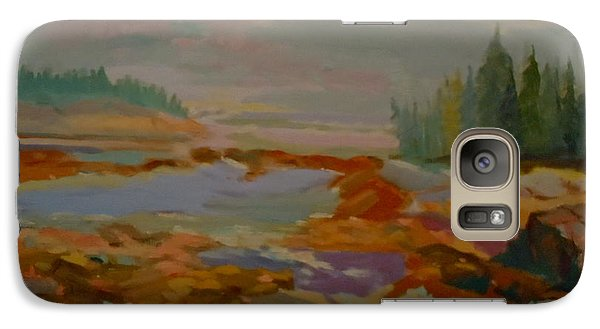Galaxy Case featuring the painting Schoodic Inlet 2 by Francine Frank