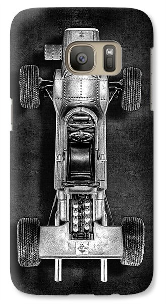 Galaxy Case featuring the photograph Schuco Matra Ford Top Bw by YoPedro