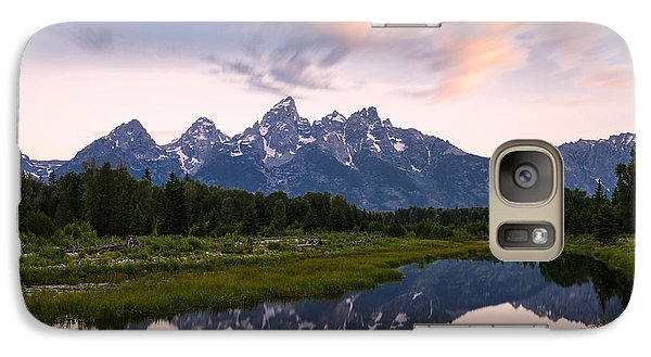 Galaxy Case featuring the photograph Schwabacher Landing In 60 Seconds by Dan Mihai