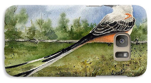 Flycatcher Galaxy S7 Case - Scissor-tail Flycatcher by Sam Sidders