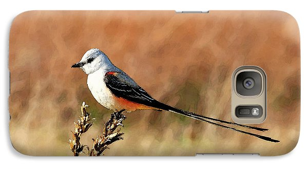 Scissor-tailed Flycatcher Galaxy S7 Case by Betty LaRue