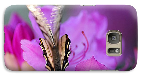 Galaxy Case featuring the photograph Scissorwings by Susan Capuano