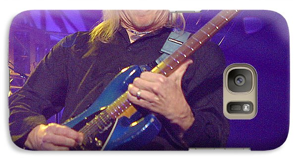 Galaxy Case featuring the photograph Steve Morse Kansas by Don Olea