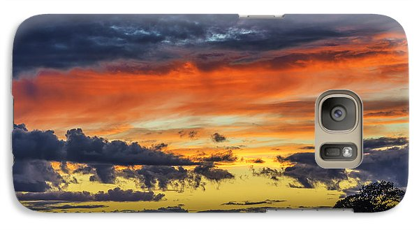 Galaxy Case featuring the photograph Scottish Sunset by Jeremy Lavender Photography