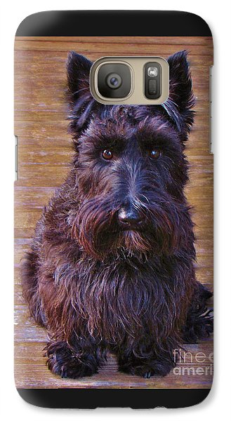 Galaxy Case featuring the photograph Scottish Terrier by Michele Penner