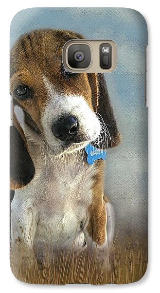 Galaxy Case featuring the photograph Scout by Steven Richardson