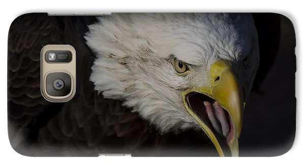 Galaxy Case featuring the photograph Screaming Eagle by Andrea Silies