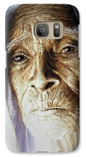 Galaxy Case featuring the painting Scripts Of Ancestral Light  by J- J- Espinoza