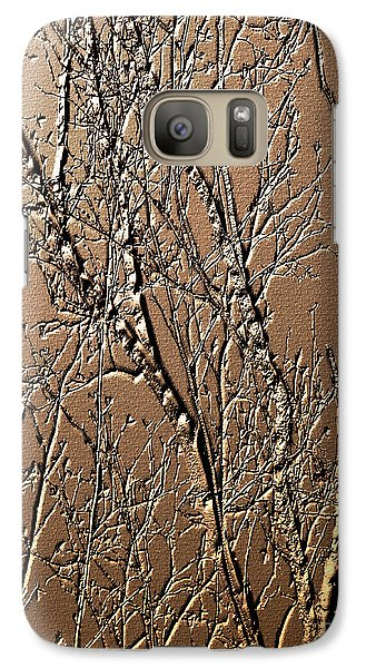 Galaxy Case featuring the digital art Sculpted Tree Branches by Smilin Eyes  Treasures