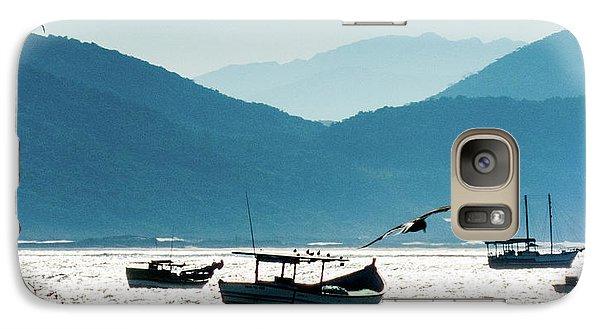Sea And Freedom Galaxy S7 Case by Martin Lopreiato