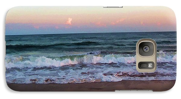 Galaxy Case featuring the photograph Sea And Sky by Roberta Byram