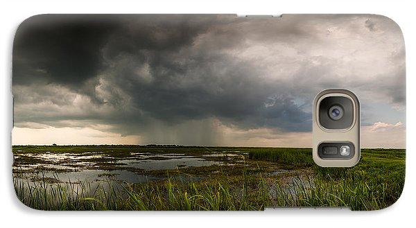Galaxy Case featuring the photograph Sea Breeze Cell by Allen Biedrzycki