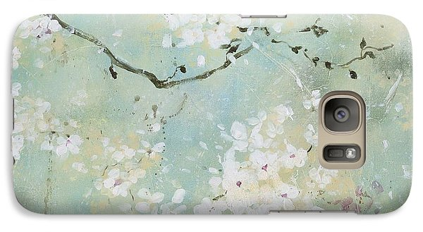 Galaxy Case featuring the painting Sea Foam by Laura Lee Zanghetti