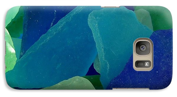 Galaxy Case featuring the photograph Sea Glass by Chad and Stacey Hall