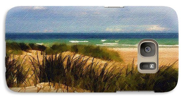 Galaxy Case featuring the photograph Sea Grass by Sandy MacGowan