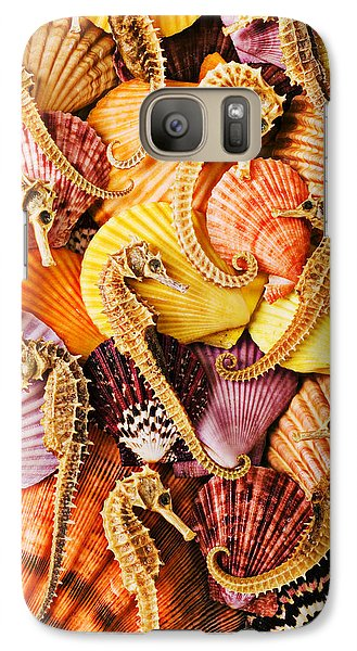 Sea Horses And Sea Shells Galaxy S7 Case
