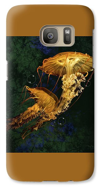 Galaxy Case featuring the digital art Sea Nettle Jellies by Thanh Thuy Nguyen