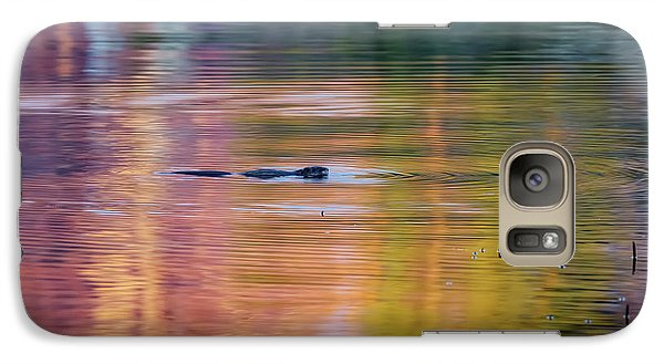 Galaxy Case featuring the photograph Sea Of Color by Bill Wakeley
