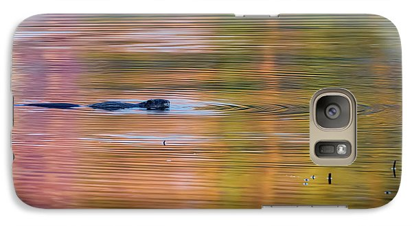 Galaxy Case featuring the photograph Sea Of Color Square by Bill Wakeley