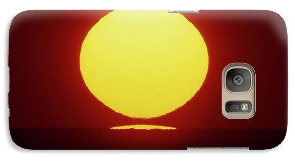 Sea Of Japan Galaxy S7 Case by Tatsuya Atarashi
