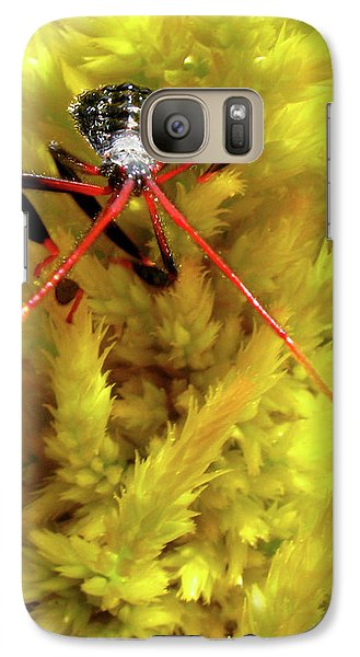 Galaxy Case featuring the photograph Sea Of Yellow by Donna Brown