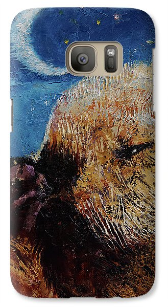 Sea Otter Pup Galaxy S7 Case by Michael Creese