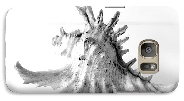 Galaxy Case featuring the photograph Sea Shell by Gina Dsgn