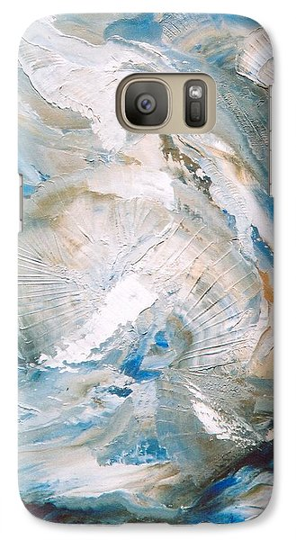 Galaxy Case featuring the painting Sea Shells by M Diane Bonaparte
