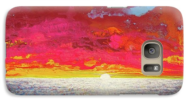 Galaxy Case featuring the painting Sea Splendor by Mary Ellen Frazee