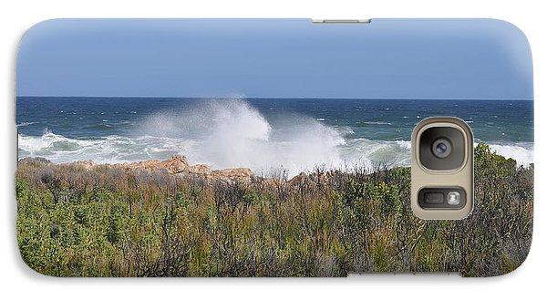 Galaxy Case featuring the photograph Sea Spray by Linda Ferreira