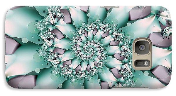 Galaxy Case featuring the digital art Seafoam Spring by Michelle H